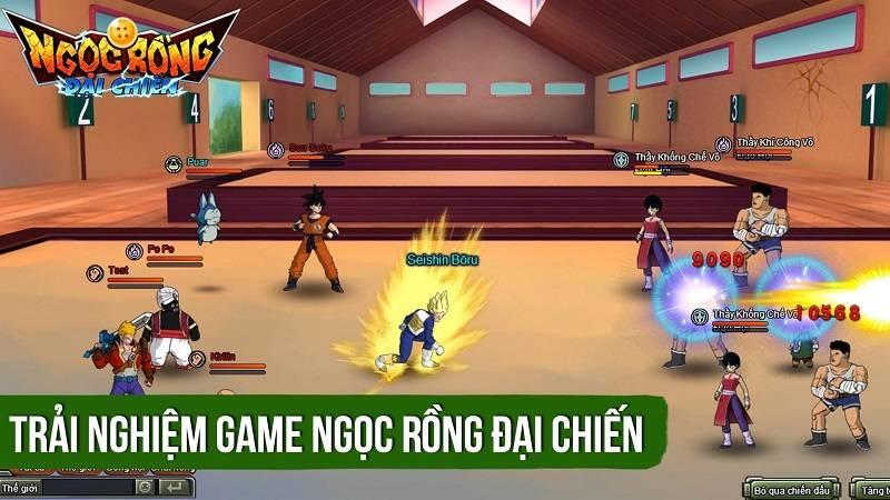 Trải nghiệm game Ngọc rồng đại chiến ra mắt 16/3/2016