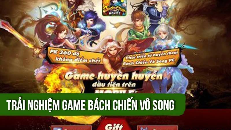 Trải nghiệm game Bách Chiến Vô Song ra mắt 16/3/2016 - VTC Mobile