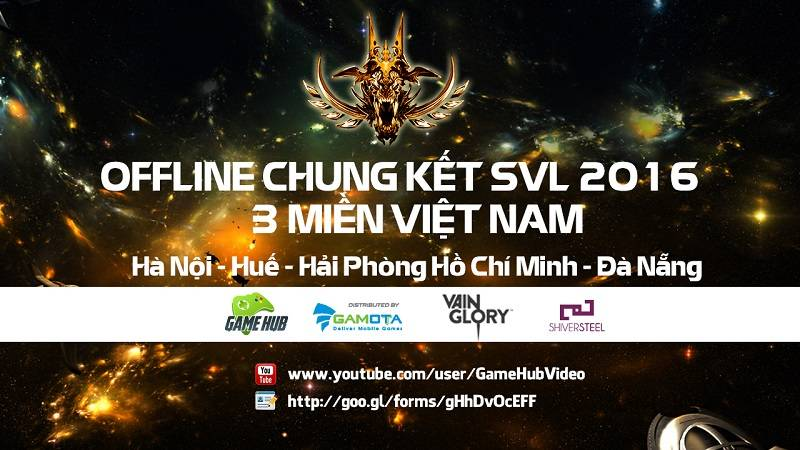 Chung kết giải SVL 2016 - 27/3/2016