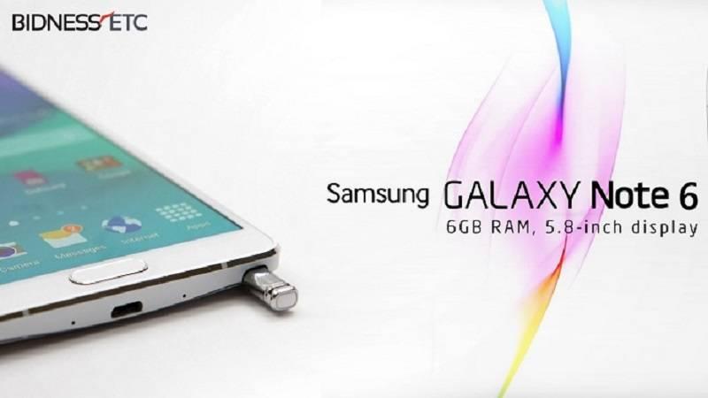 Cấu hình Samsung Galaxy Note 6 hé lộ qua ứng dụng CPU-Z