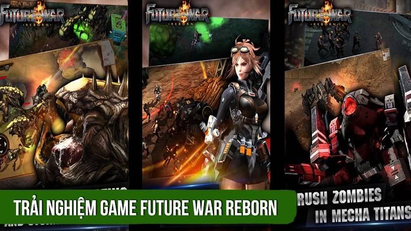 Trải nghiệm game Future War Reborn - iOS