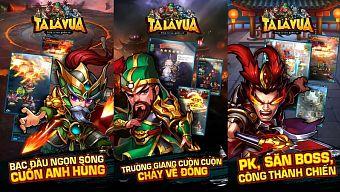 """Ta Là Vua có """"quyền lực"""" gì để có thể đặt chân vào thị trường game Việt?"""