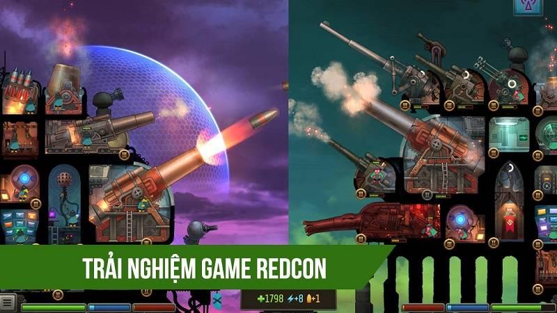 Trải nghiệm game bắn phá pháo đài REDCON - Android