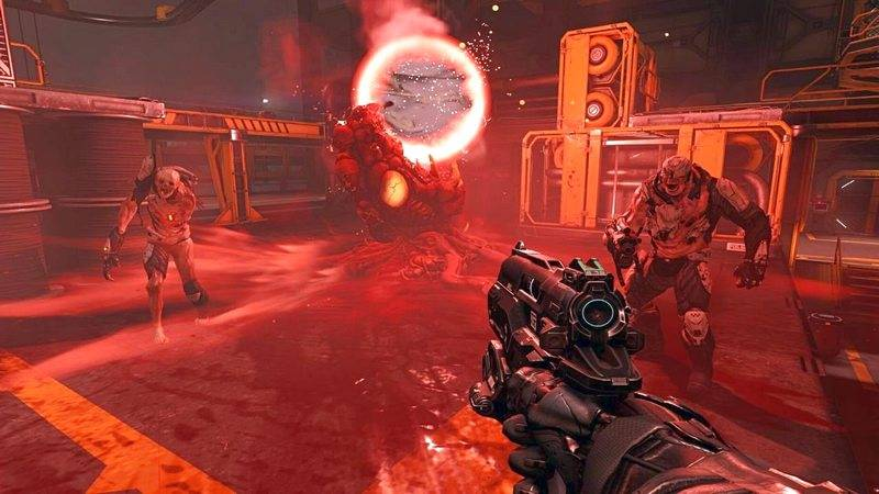 Doom 2016, Doom 4, game ban sung, game ban sung 2016, FPS 2016, FPS, Id software, Call of Duty, Battlefield, Half-life, game pc/console, game pc/console 2016, Doom system requirements