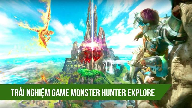 Trải nghiệm game chém quái Monster Hunter...