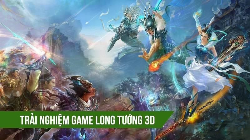 Trải nghiệm bản test game Long Tướng 3D 9/5/2016 - VTC Game