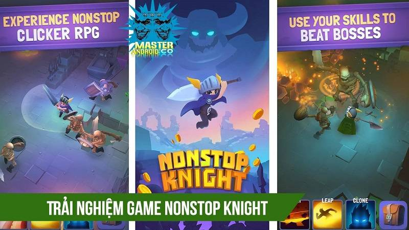 Trải nghiệm game ARPG Nonstop Knight - iOS/Android