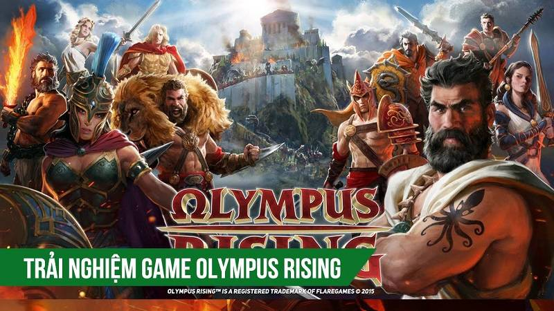 Trải nghiệm game MMOF2P Olympus Rising