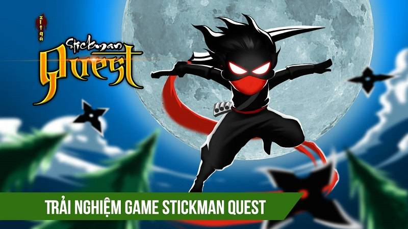 Trải nghiệm Stickman Quest - game Endless Runner Việt Nam