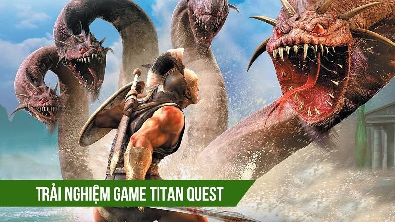 Trải nghiệm game ARPG Titan Quest trên iOS