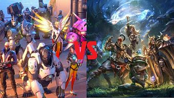 Overwatch, Overwatch  2016, Overwatch vs LoL, Overwatch vs League of Legends, LoL, League of Legends, MOBA, FPS, FPS 2016, MOBA 2016, Esport, game pc/console, game pc/console 2016, game dau mang, esport 2016, Blizzard, game han quoc, top game korea, pc bang, quan net, overwatch