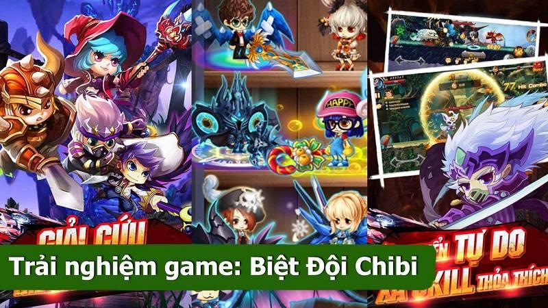 Trải nghiệm game ARPG Biêt Đội Chibi ra mắt 15/6/2016