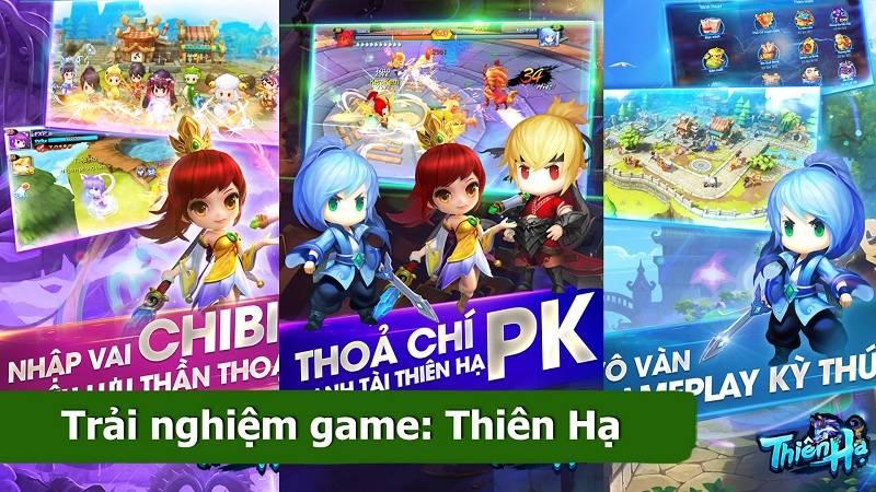 Trải nghiệm game ARPG 3D Thiên Hạ - Garena Việt Nam