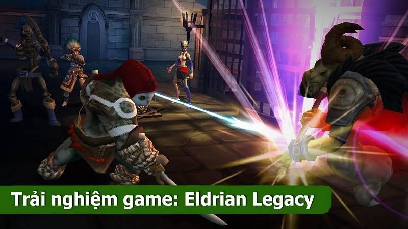 Trải nghiệm tựa MMORPG Eldrian Legacy - JoyCity