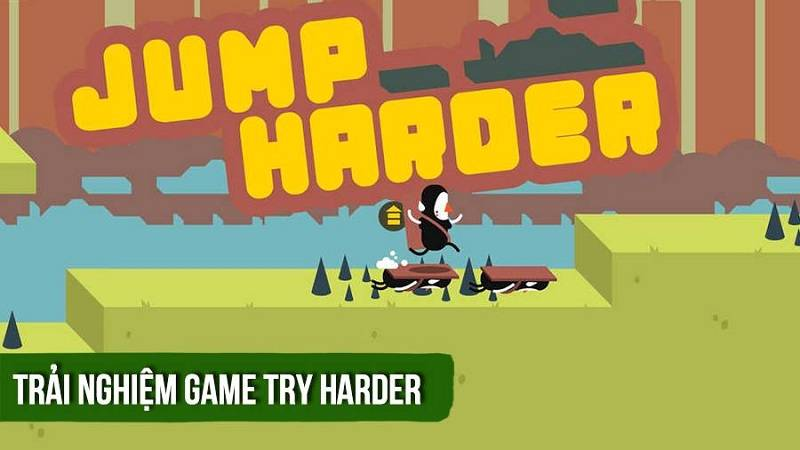 Trải nghiệm Try Harder - game runner siêu khó  (Android)