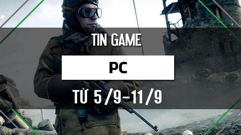 Bản tin Game PC tuần 2 tháng 9/2016