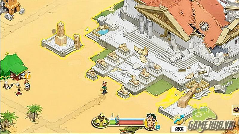 Asterix and Friends - Game chiến thuật ăn theo phim hoạt hình huyền thoại