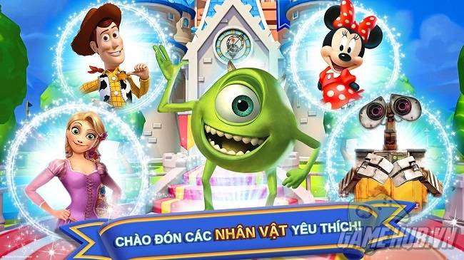 game disney magic kingdoms viet java