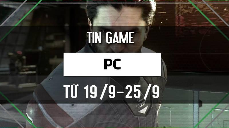 Bản tin Game PC tuần 4 tháng 9/2016