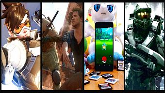arcade awards, firewatch, game mobile, game mobile 2016, game pc/console, game pc/console 2016, golden joystick awards, golden joystick awards 2016, halo 5: guardians, no man's sky, overwatch, pokemon go, sid meier's pirates, spec ops: the line, top game 2016, top game hay 2016, uncharted 4: a thief's end