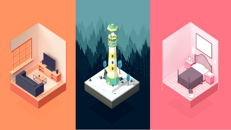 game android, game casual, game giải đố, game giải đố mobile, game indie, game ios, game mobile, game đồ họa đẹp, happy volcano, monument valley, puzzle game, the room, winter, winter game mobile