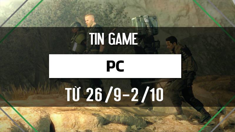 Bản tin Game PC tuần 5 tháng 9/2016