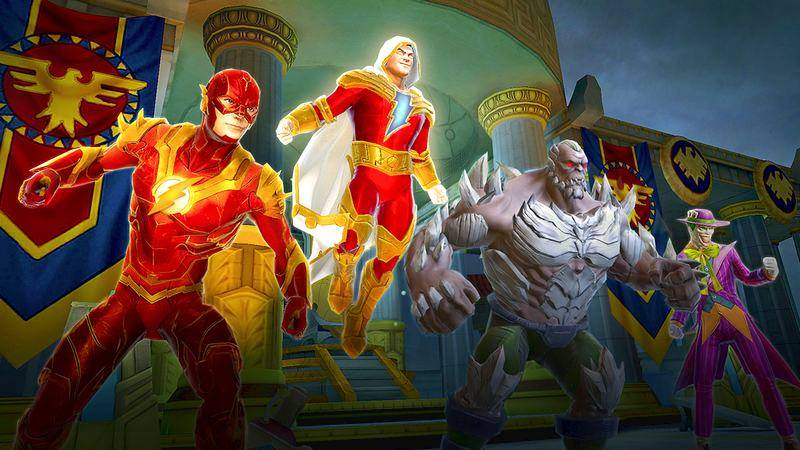 DC Legends - Marvel cẩn thận, đây sẽ là siêu phẩm mới của Mobile