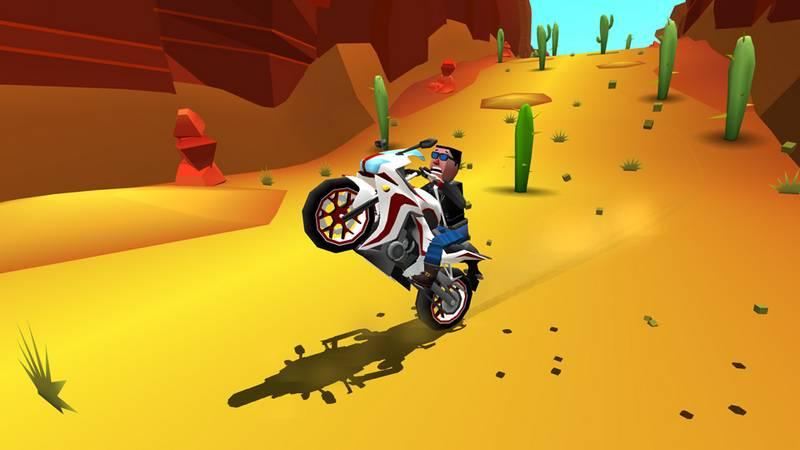 Faily Raider - Phá bỏ trọng lực với game đua xe mạo hiểm Mobile
