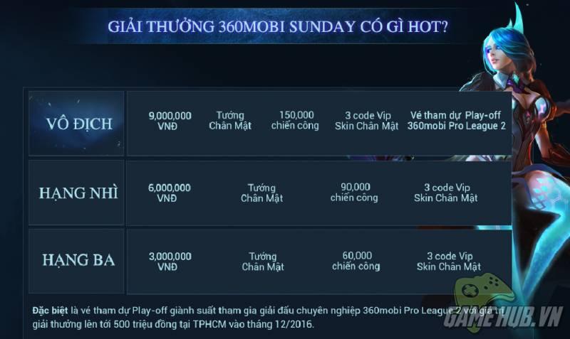 360mobi Sunday - sân chơi dành cho game thủ đam mê eSports - ảnh 4