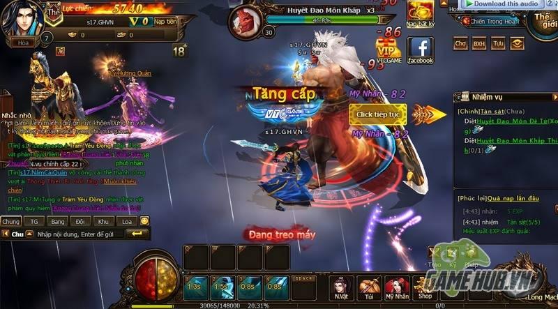 """Trải nghiệm: Đồ Long Ký – Webgame có lượng người chơi """"khổng lồ"""" - ảnh 2"""