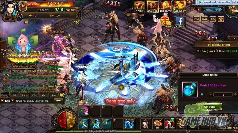 """Trải nghiệm: Đồ Long Ký – Webgame có lượng người chơi """"khổng lồ"""" - ảnh 6"""