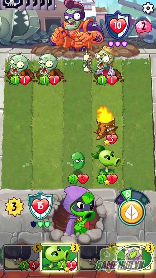Tải ngay Plants vs. Zombies Heroes - Game gây nghiện hàng nhất Mobile - ảnh 5