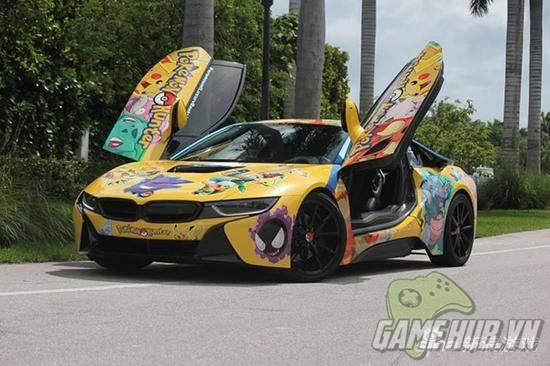 """""""Chảy nước miếng"""" với chiếc BMW trong mơ của tất cả game thủ Pokemon Go - ảnh 1"""