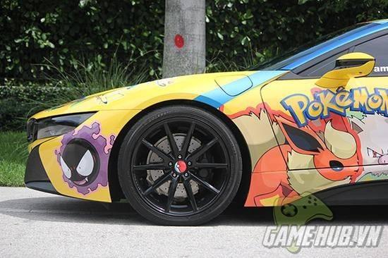 """""""Chảy nước miếng"""" với chiếc BMW trong mơ của tất cả game thủ Pokemon Go - ảnh 4"""