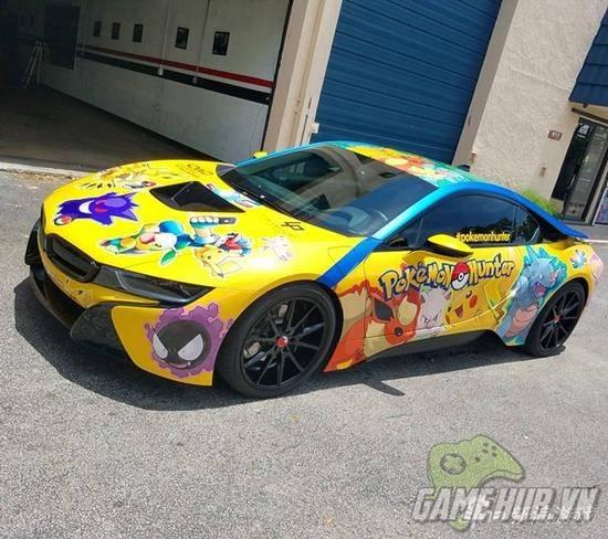 """""""Chảy nước miếng"""" với chiếc BMW trong mơ của tất cả game thủ Pokemon Go - ảnh 6"""