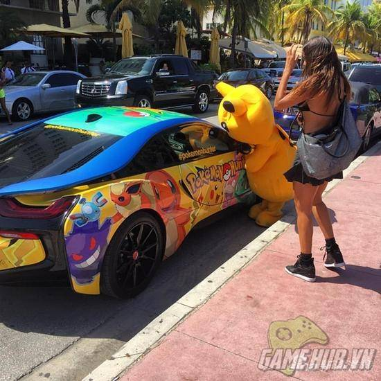 """""""Chảy nước miếng"""" với chiếc BMW trong mơ của tất cả game thủ Pokemon Go - ảnh 3"""