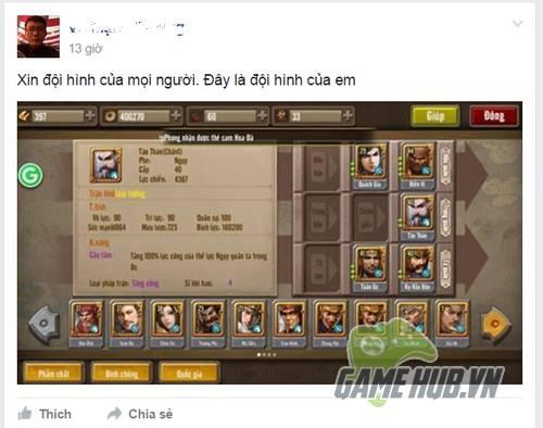 """Game thủ Tam Quốc Gamota """"hò nhau"""" khoe tướng - ảnh 4"""