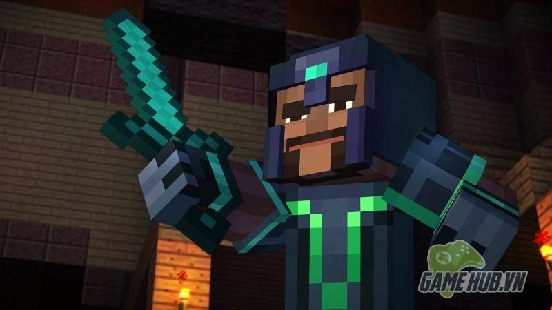 Đã có thể chơi Minecraft Story Mode Ep.1 hoàn toàn miễn phí trên các hệ máy
