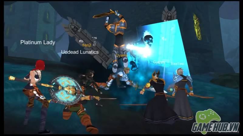 AdventureQuest 3D - MMORPG cho game thủ Mobile đối đầu PC