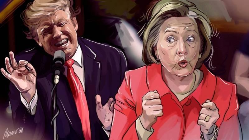 HillaryDonald Go - Khi ứng cử viên tổng thống bị đem vào Pokemon GO