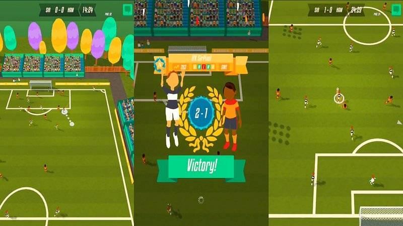 Solid Soccer - Game bóng đá độc chưa từng thấy trên Mobile