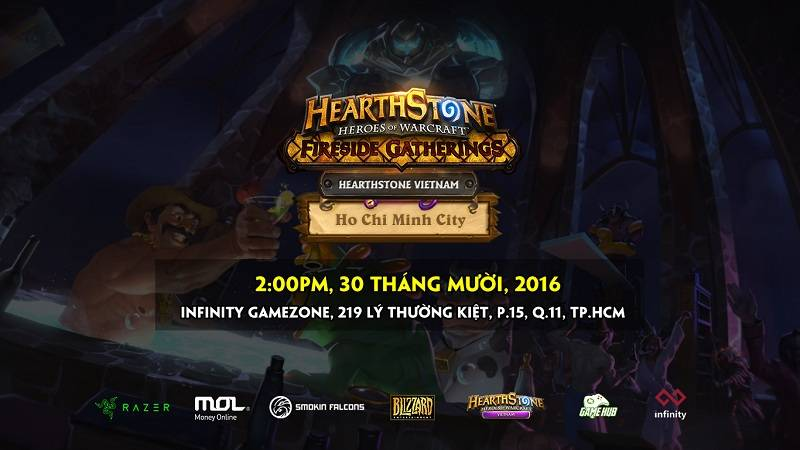 Cộng đồng Hearthstone sôi động với Offline cực lớn tại Sài Gòn