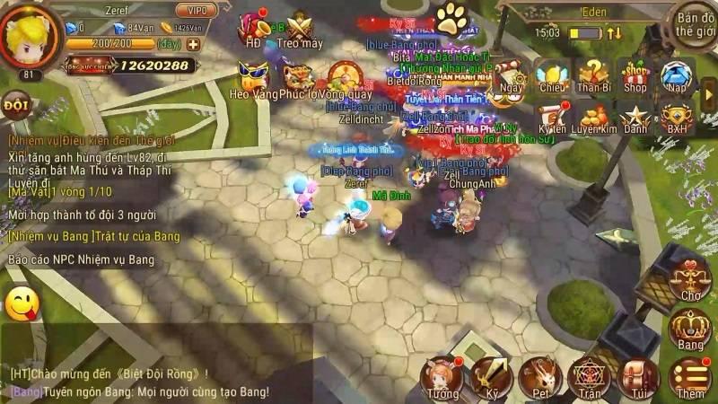 Biệt Đội Rồng - Hào hứng phiêu lưu cùng Luffy, Iron man, Teemo và Tiểu Long Nữ
