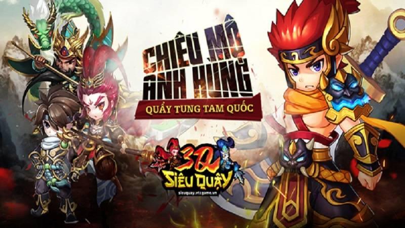3Q Siêu Quậy – Game Tam Quốc ma thuật chính thức cập bến Việt Nam