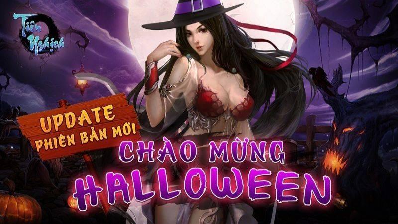 """Tiên Nghịch: """"Bội thực"""" với phiên bản update cực HOT mừng Halloween"""