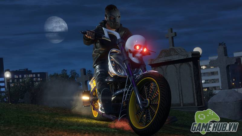 GTA Online chào sân Update cực khủng đón Halloween