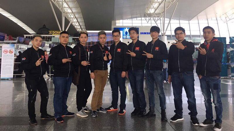 Ngày hôm nay đội tuyển Tập Kích Việt Nam lên đường tham dự HPL 2016