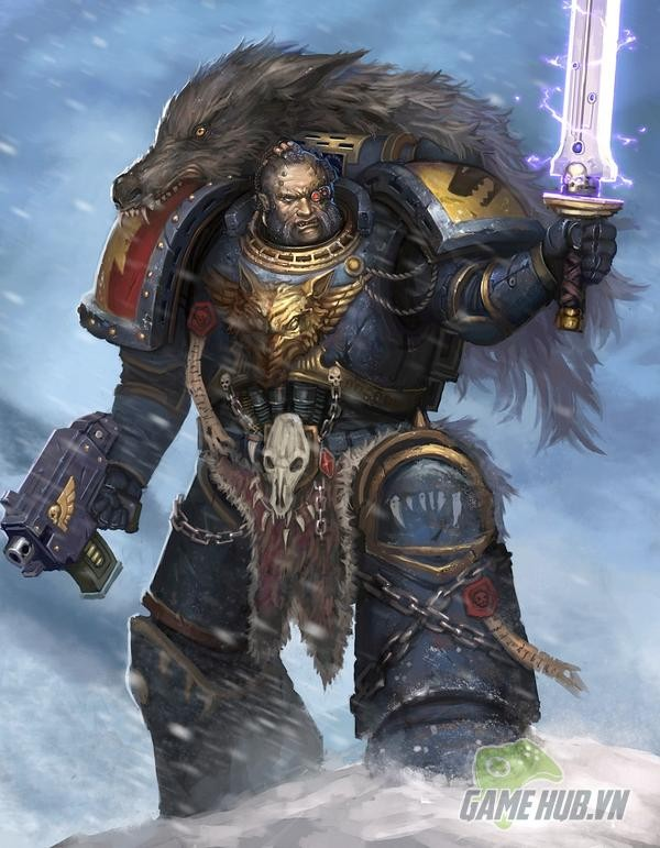Wulfen - Những con ma sói đúng nghĩa của Warhammer 40K - ảnh 4