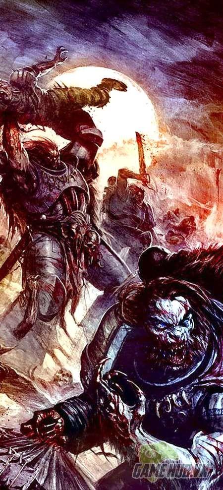 Wulfen - Những con ma sói đúng nghĩa của Warhammer 40K - ảnh 3