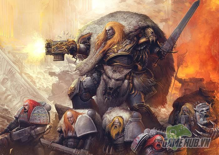 Wulfen - Những con ma sói đúng nghĩa của Warhammer 40K - ảnh 5